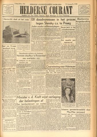 Heldersche Courant 1952-11-28