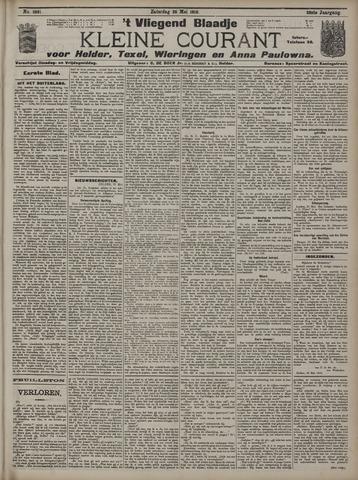 Vliegend blaadje : nieuws- en advertentiebode voor Den Helder 1910-05-28