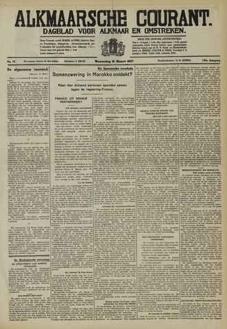 Alkmaarsche Courant 1937-03-31