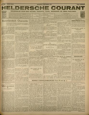Heldersche Courant 1934-09-08
