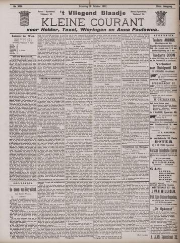 Vliegend blaadje : nieuws- en advertentiebode voor Den Helder 1902-10-18