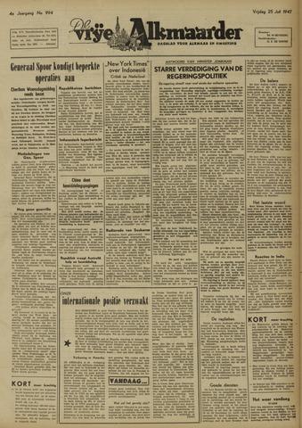 De Vrije Alkmaarder 1947-07-25