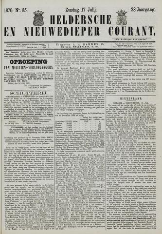 Heldersche en Nieuwedieper Courant 1870-07-17