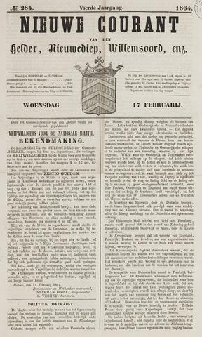 Nieuwe Courant van Den Helder 1864-02-17