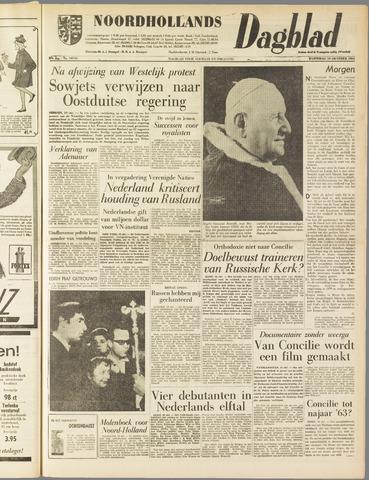 Noordhollands Dagblad : dagblad voor Alkmaar en omgeving 1962-10-10