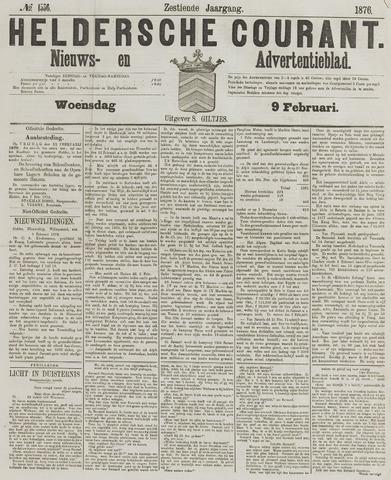 Heldersche Courant 1876-02-09