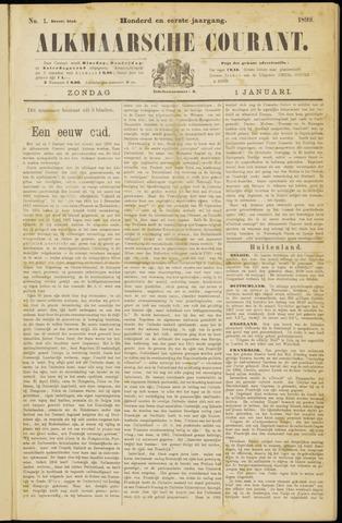 Alkmaarsche Courant 1899-01-01