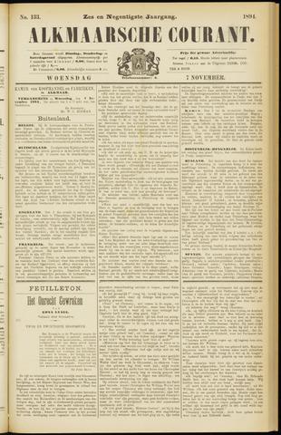 Alkmaarsche Courant 1894-11-07