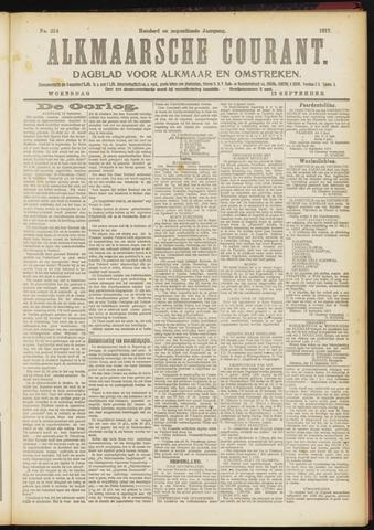 Alkmaarsche Courant 1917-09-12