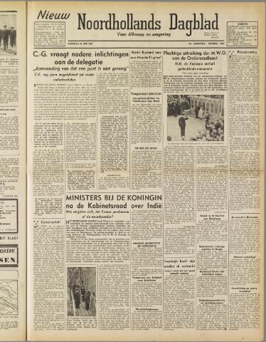 Nieuw Noordhollandsch Dagblad : voor Alkmaar en omgeving 1947-06-21