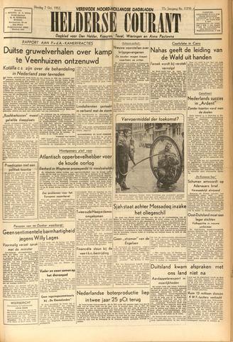Heldersche Courant 1952-10-07