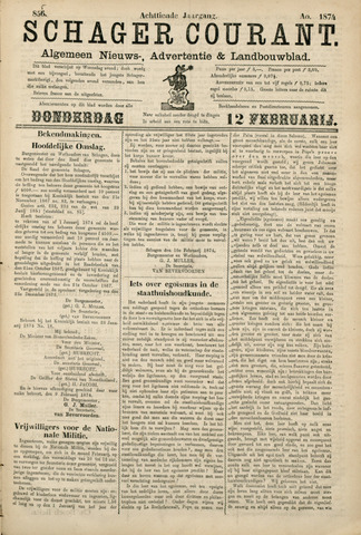 Schager Courant 1874-02-12