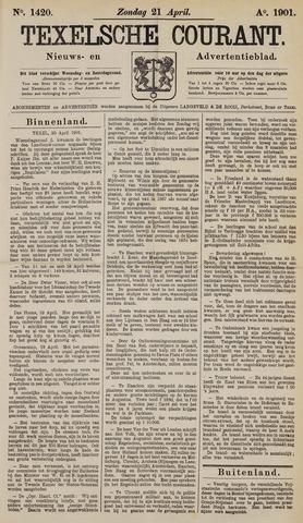 Texelsche Courant 1901-04-21