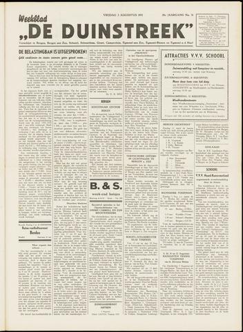 De Duinstreek 1951-08-03