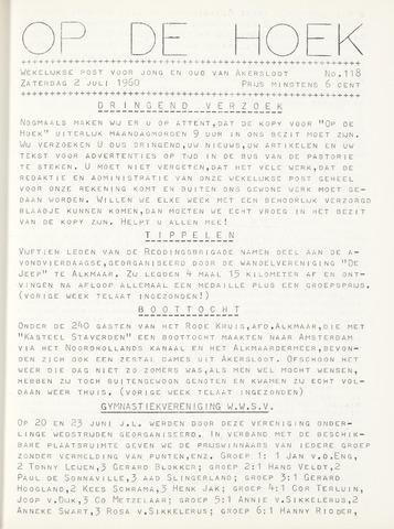 Op De Hoek, weekblad voor Akersloot 1960-07-02