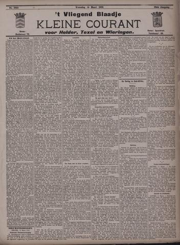 Vliegend blaadje : nieuws- en advertentiebode voor Den Helder 1900-03-14