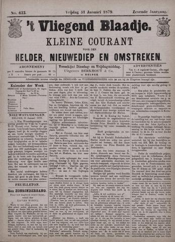 Vliegend blaadje : nieuws- en advertentiebode voor Den Helder 1879-01-31