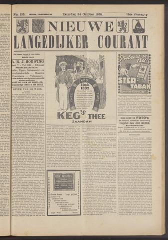 Nieuwe Langedijker Courant 1925-10-24