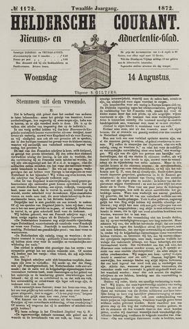 Heldersche Courant 1872-08-14