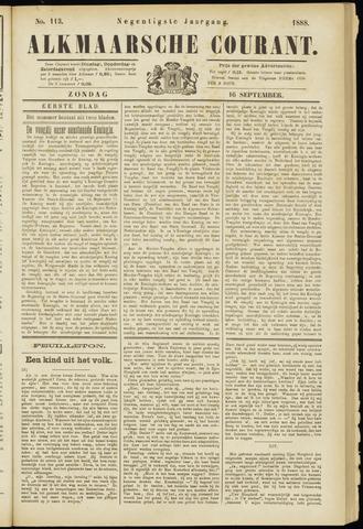 Alkmaarsche Courant 1888-09-16