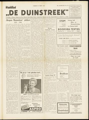 De Duinstreek 1961-09-29