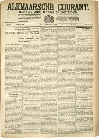 Alkmaarsche Courant 1933-10-23