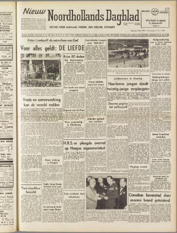 Nieuw Noordhollandsch Dagblad : voor Alkmaar en omgeving 1950-05-08