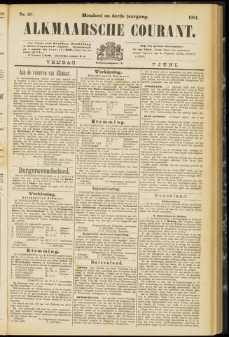 Alkmaarsche Courant 1901-06-07