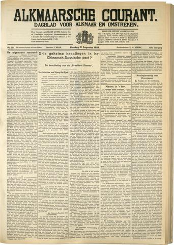 Alkmaarsche Courant 1937-08-31