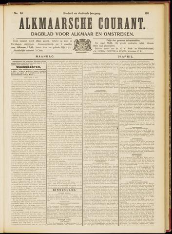 Alkmaarsche Courant 1911-04-24