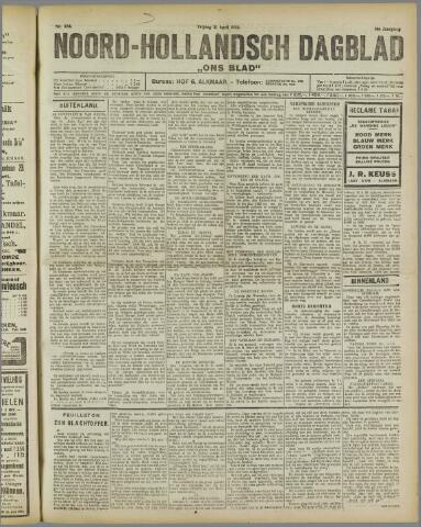 Ons Blad : katholiek nieuwsblad voor N-H 1922-04-21