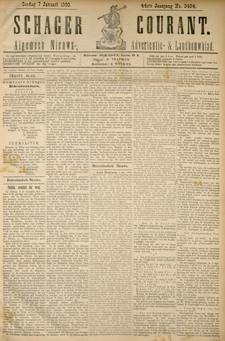 Schager Courant 1900