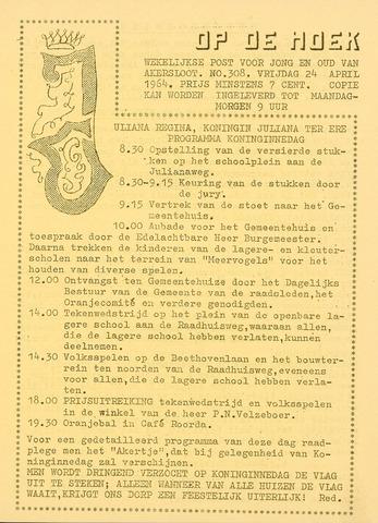 Op De Hoek, weekblad voor Akersloot 1964-04-24