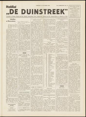 De Duinstreek 1952-10-31