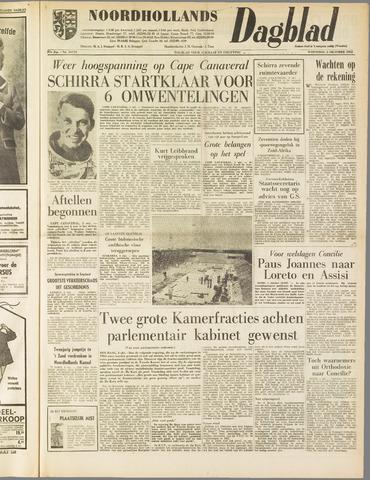 Noordhollands Dagblad : dagblad voor Alkmaar en omgeving 1962-10-03