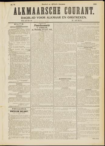 Alkmaarsche Courant 1913-04-21