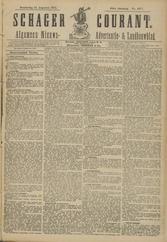 Schager Courant 1911-08-31