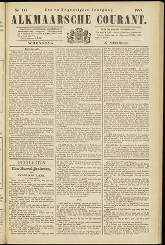 Alkmaarsche Courant 1889-11-27