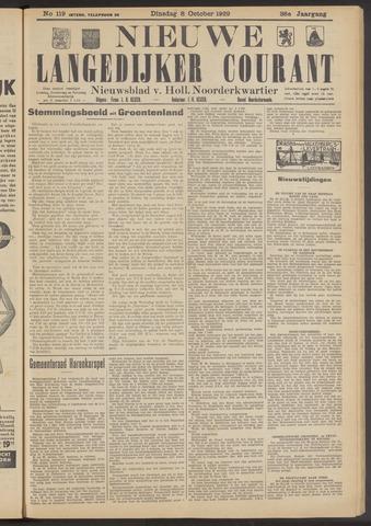 Nieuwe Langedijker Courant 1929-10-08