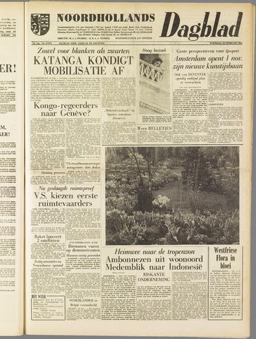 Noordhollands Dagblad : dagblad voor Alkmaar en omgeving 1961-02-22