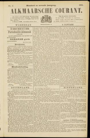 Alkmaarsche Courant 1905-01-04