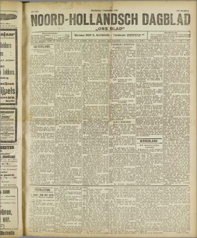 Ons Blad : katholiek nieuwsblad voor N-H 1922-09-07