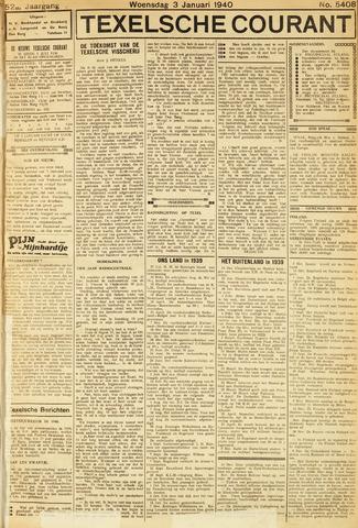 Texelsche Courant 1940