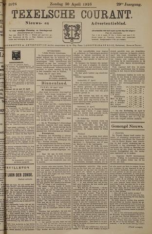 Texelsche Courant 1916-04-30