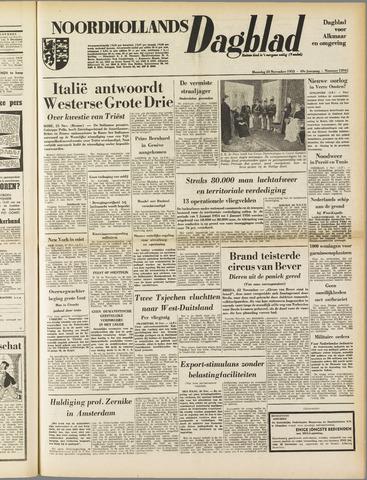 Noordhollands Dagblad : dagblad voor Alkmaar en omgeving 1953-11-23