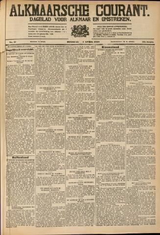 Alkmaarsche Courant 1930-04-02