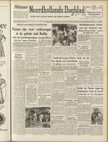 Nieuw Noordhollandsch Dagblad : voor Alkmaar en omgeving 1950-05-09