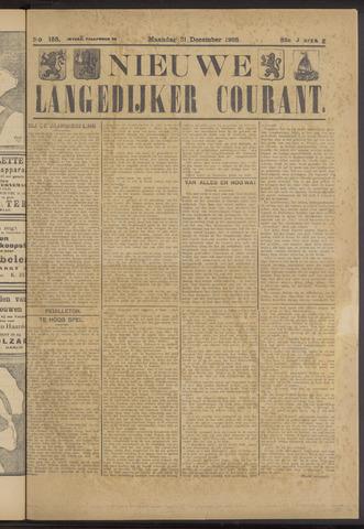 Nieuwe Langedijker Courant 1923-12-31