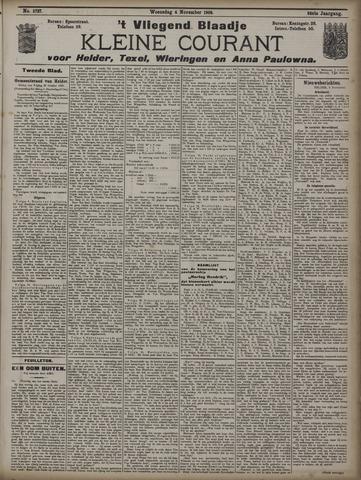 Vliegend blaadje : nieuws- en advertentiebode voor Den Helder 1908-11-04