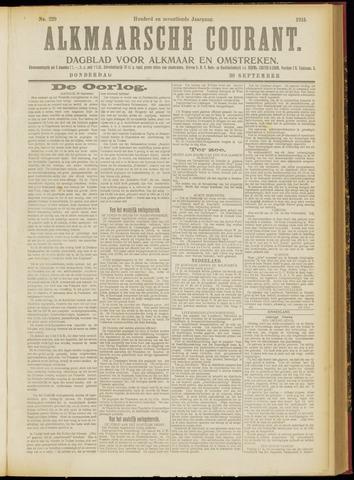 Alkmaarsche Courant 1915-09-30